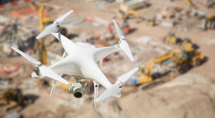無人航空機(ドローン)による現場映像の撮影について アイキャッチ