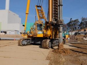 ②工場棟建築工事状況(11月中旬)