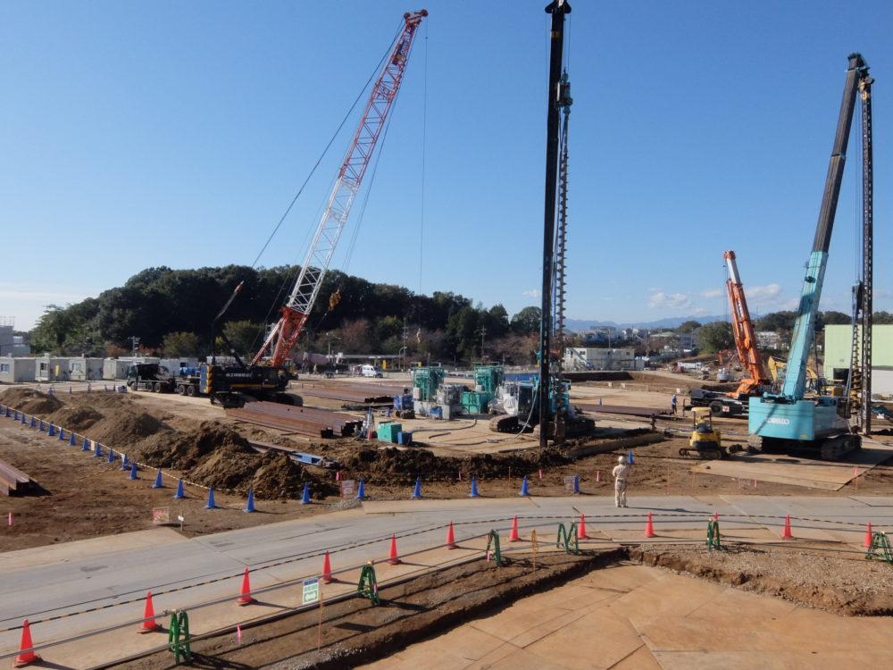 ⑤工場棟建築工事状況(11月上旬)