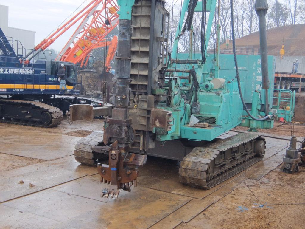 ②工場棟建築工事状況(12月中旬)