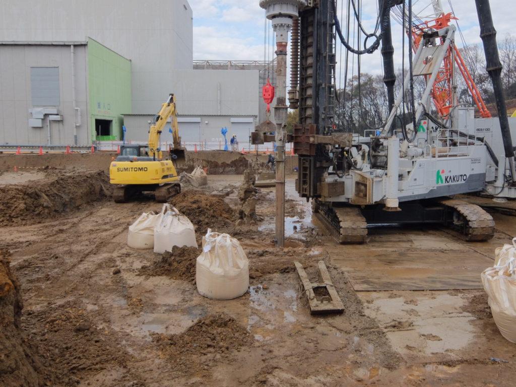 ③工場棟建築工事状況(12月中旬)