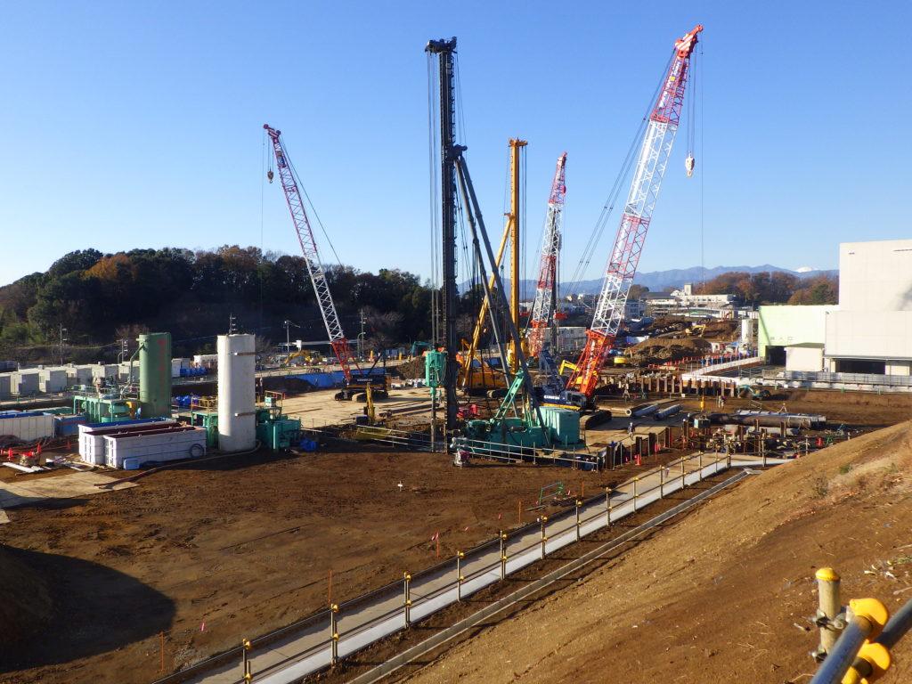 ⑤工場棟建築工事状況(12月中旬)